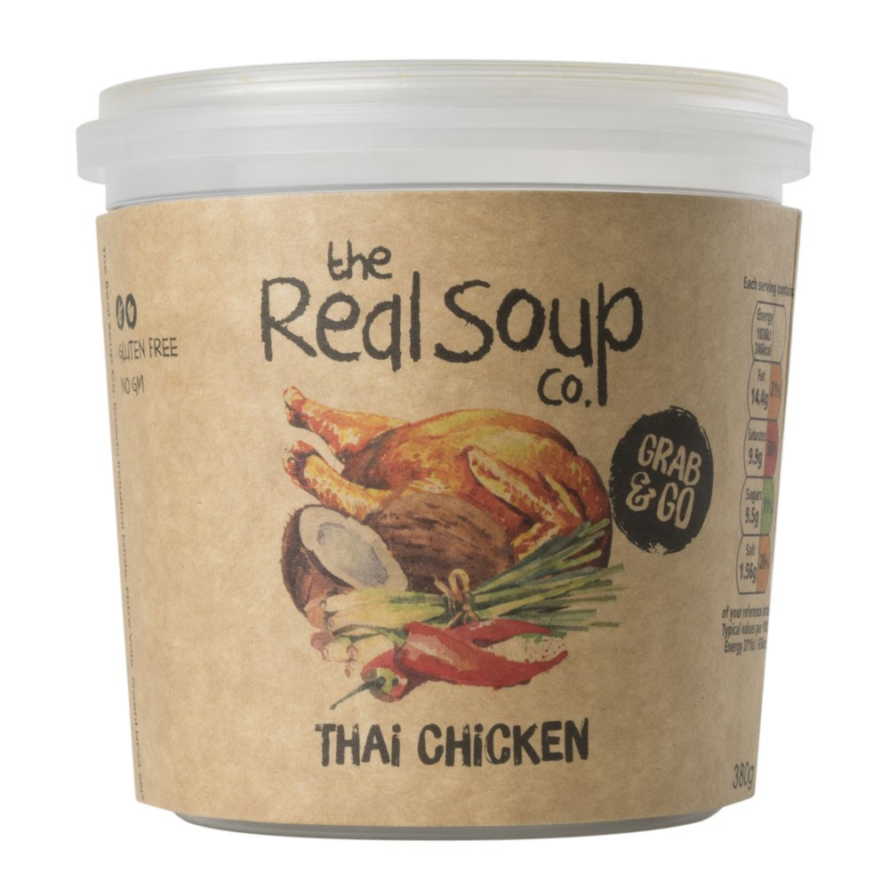 Real Soup Thai Chicken Single Serve