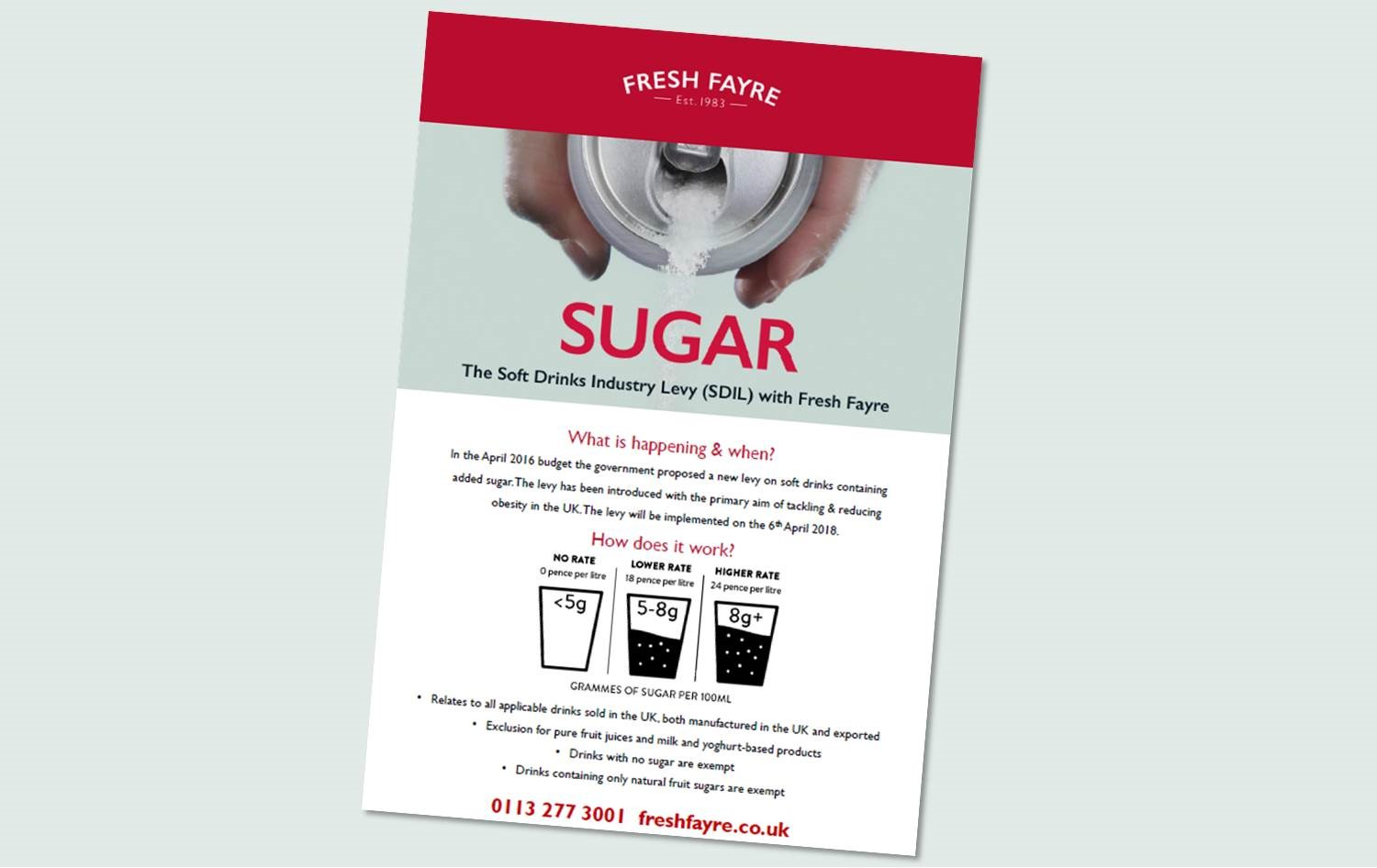 Guide to the Soft Drinks Industry Levy