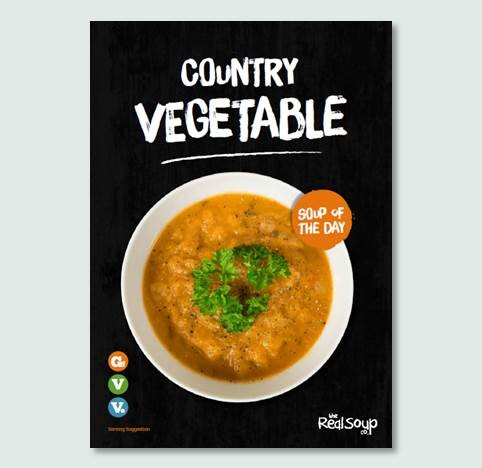 A4 Country Vegetable