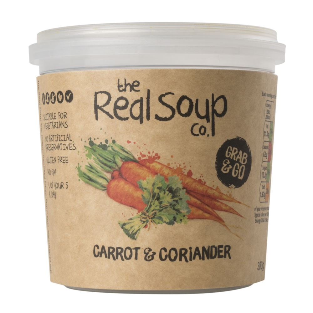 Real Soup Carrot & Coriander Single Serve