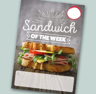 A4 Sandwich of the Week
