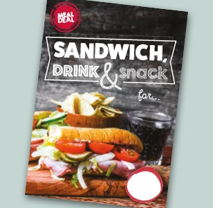 A4 Sandwich, Drink & Snack
